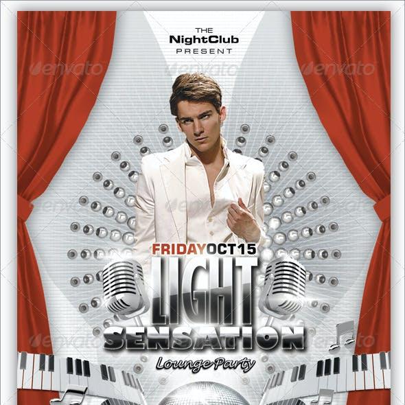 Light Sensation Flyer