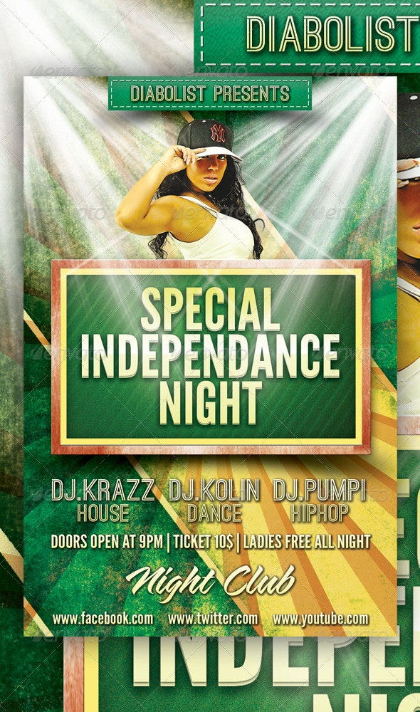 Special Night Flyer Design - Clubs & Parties Events