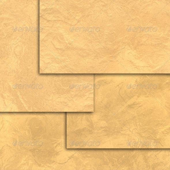 4 Gold Foil Textures