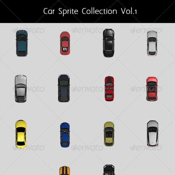 Car Top Sprite Collection Vol.1