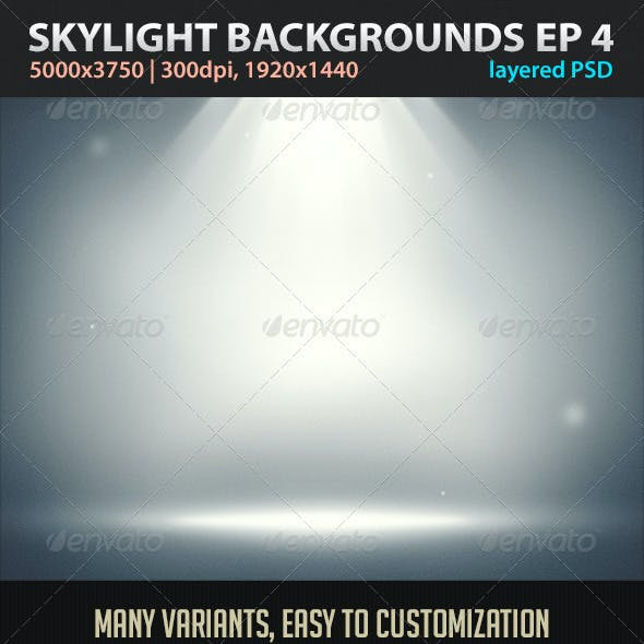 Skylight Backgrounds EP 4