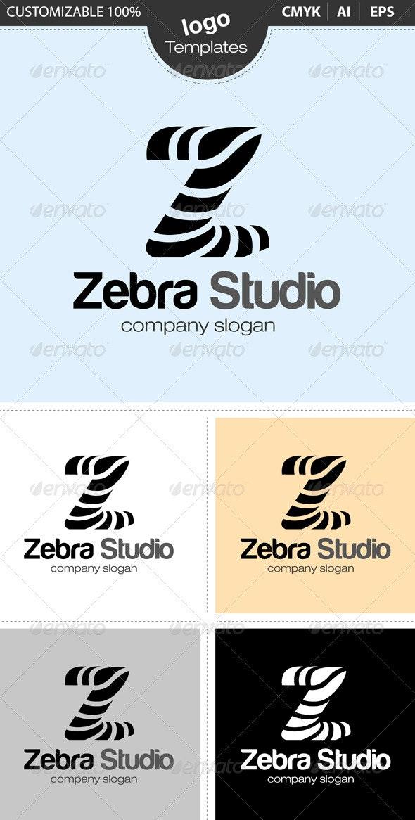 Zebra Studio - Letters Logo Templates