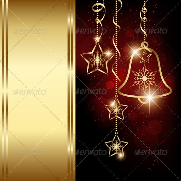 Sparkling Christmas Bell Snowflakes - Christmas Seasons/Holidays