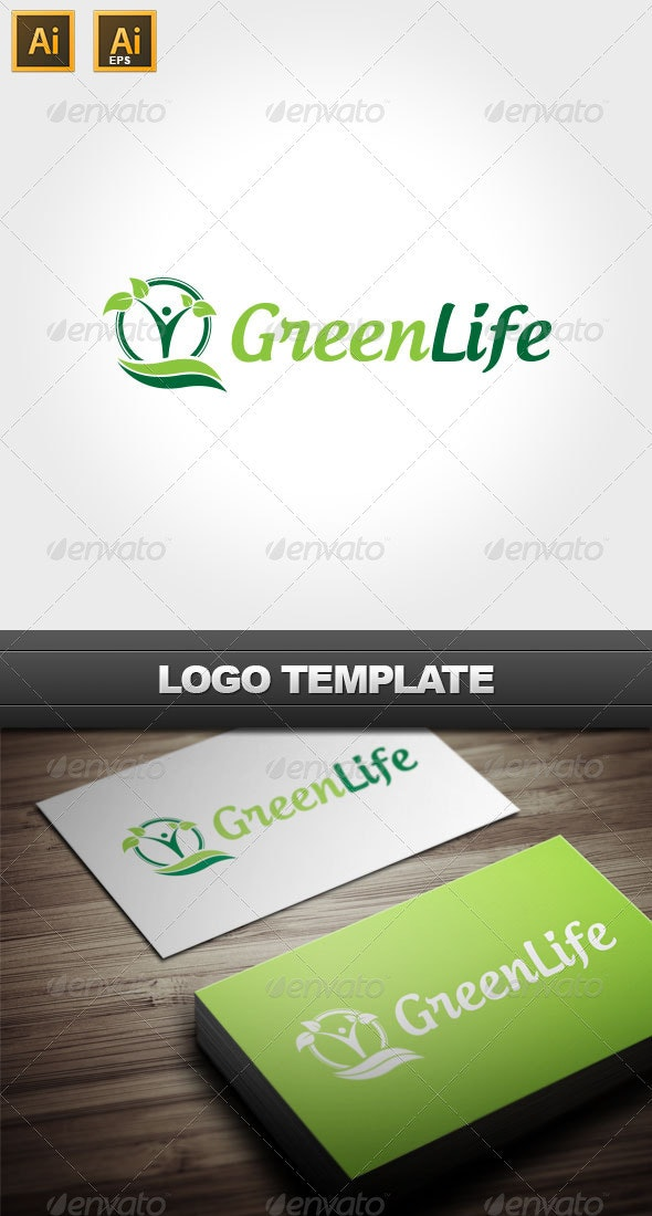 Green Life Logo - Nature Logo Templates