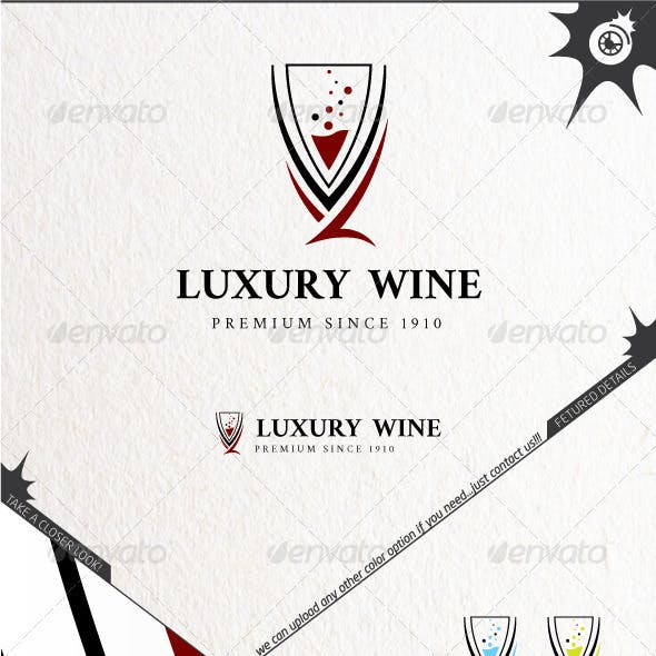 Luxury Wine Logo