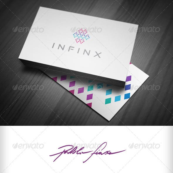 Infinity - Infinite Pixel - Network Startup Logo