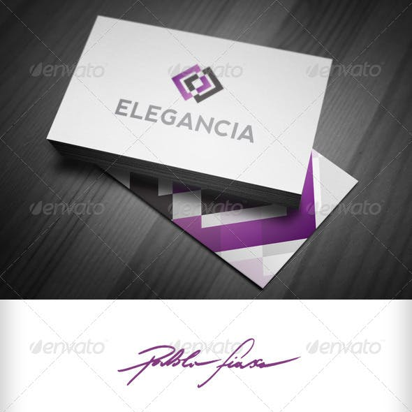 Elegant - Abstract Eye - Connection Infinity Logo