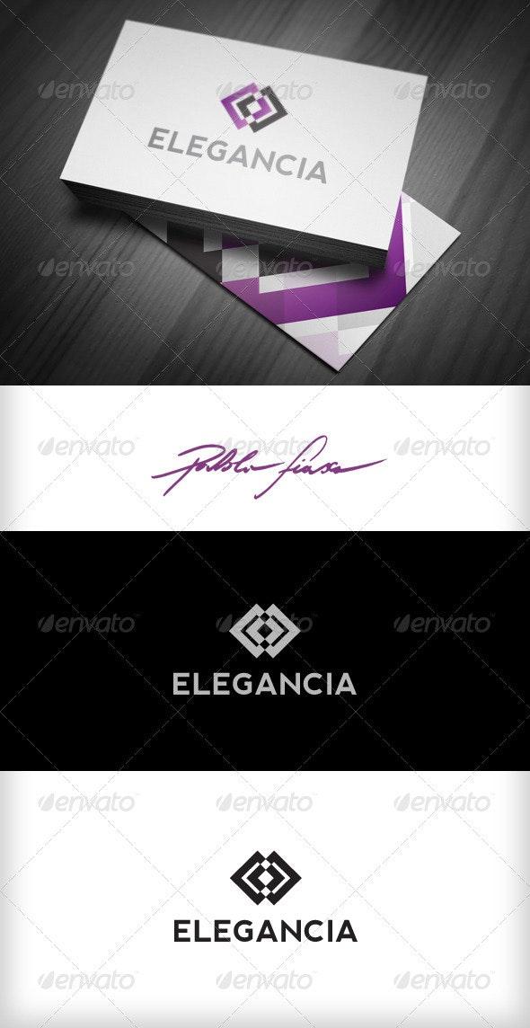 Elegant - Abstract Eye - Connection Infinity Logo - Symbols Logo Templates
