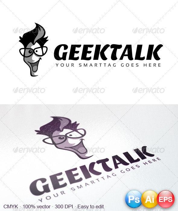 GeekTalk Logo - Humans Logo Templates