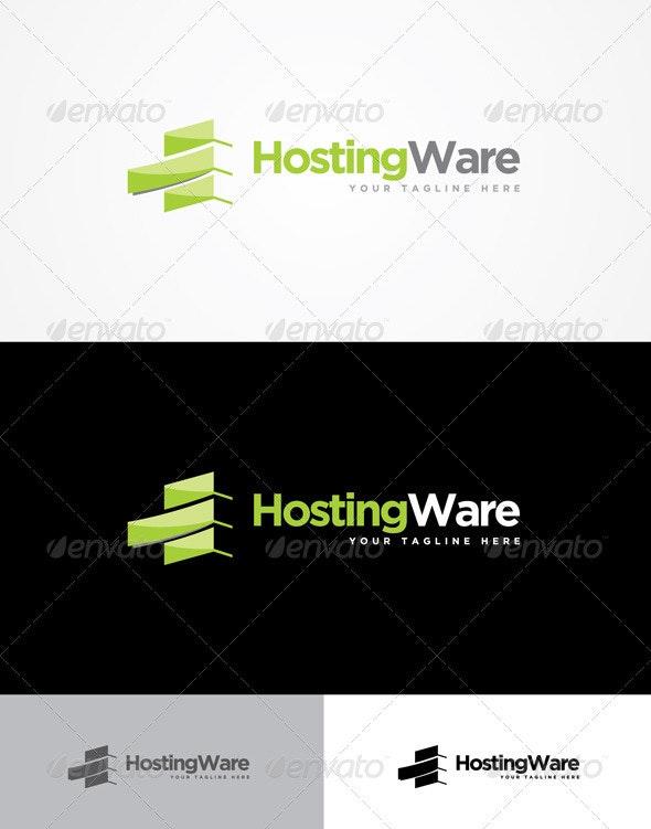 Hosting Ware Logo - Abstract Logo Templates
