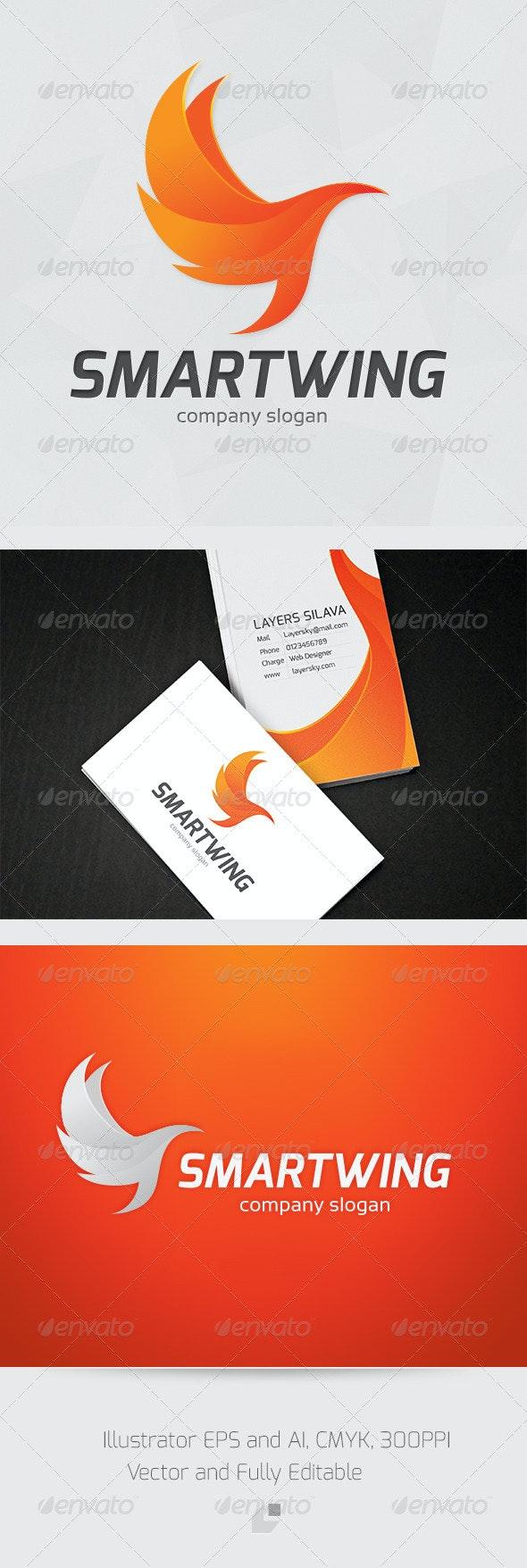 Smart Wing Logo - Animals Logo Templates