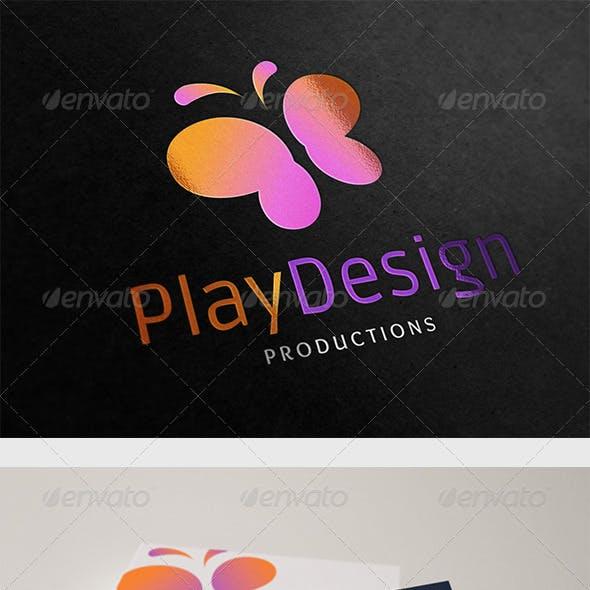 Play Design Logo
