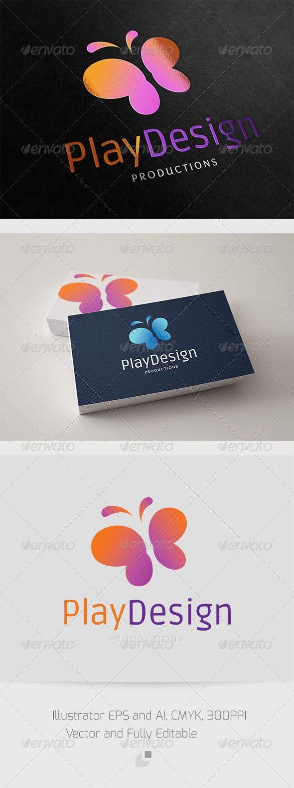 Play Design Logo - Animals Logo Templates