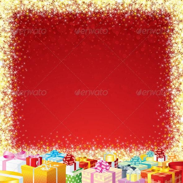 Festive Poster Template - Seasons/Holidays Conceptual