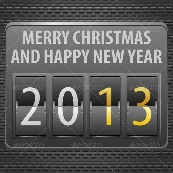 New Year 2013 on Mechanical Timetable - New Year Seasons/Holidays