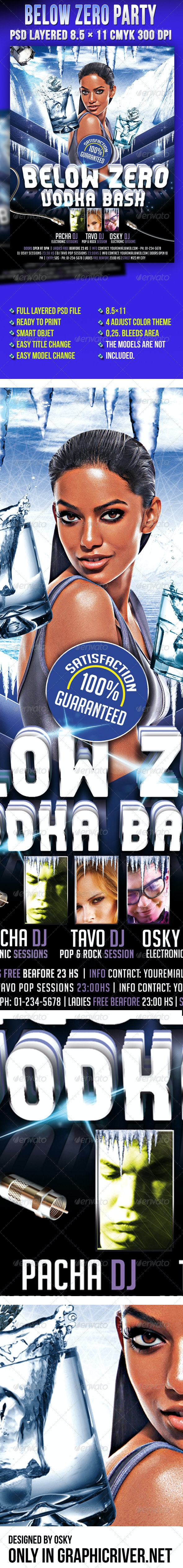 Below Zero Party - Clubs & Parties Events