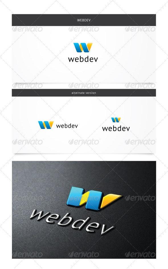 Webdev Logo - Letters Logo Templates
