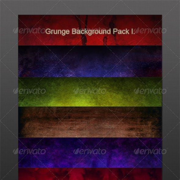 Grunge Background Pack I.