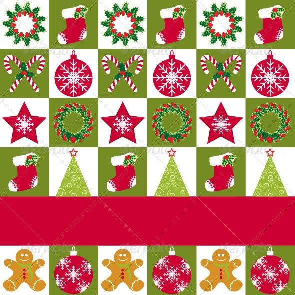 Christmas Ornament Greeting Card - Christmas Seasons/Holidays