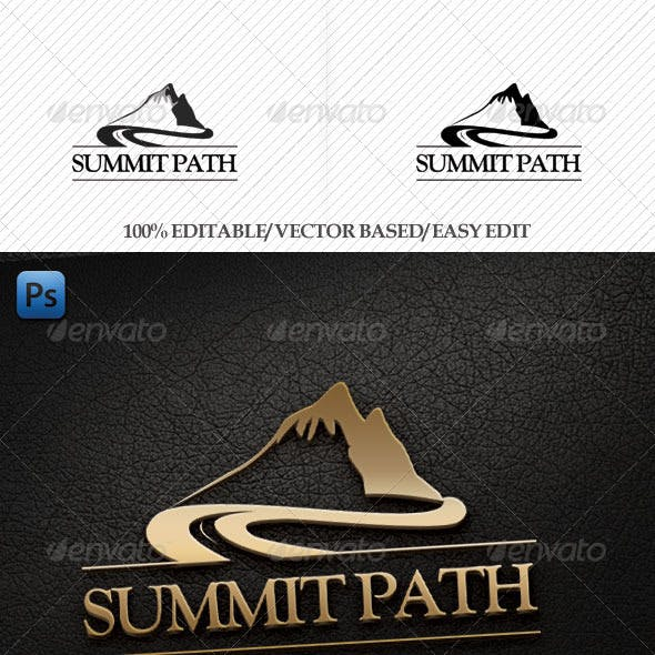 Summit Path Logo Template