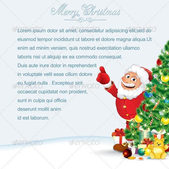 Santa Claus Card - Christmas Seasons/Holidays