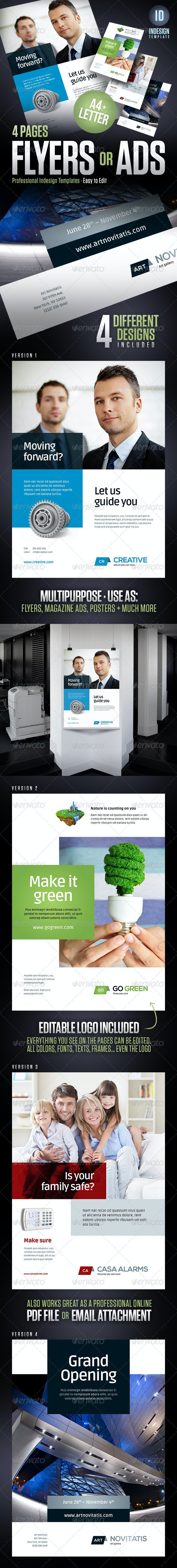 Flyers, Magazine Ads, Posters, Product Sheets - Corporate Flyers