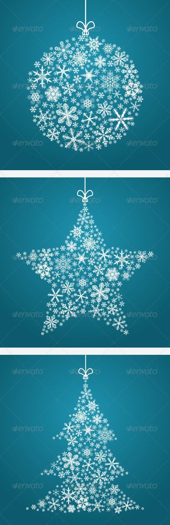 3 Christmas Backgrounds - Christmas Seasons/Holidays