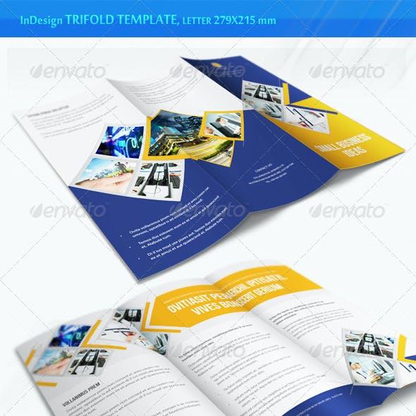 Business Trifold Brochure - v5