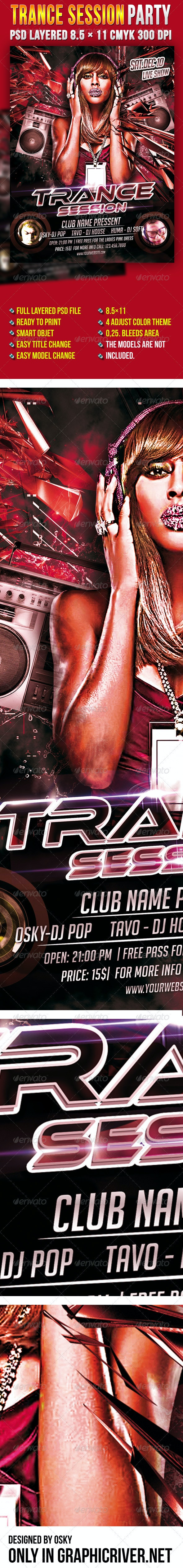 Trance Session Party - Clubs & Parties Events