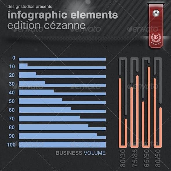 Infographic Elements Edition Cézanne