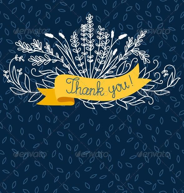 Thank You - Miscellaneous Vectors