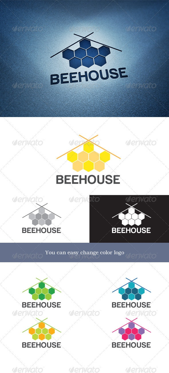 BeeHouse - Objects Logo Templates