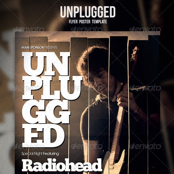 Unplugged Flyer / Poster 2