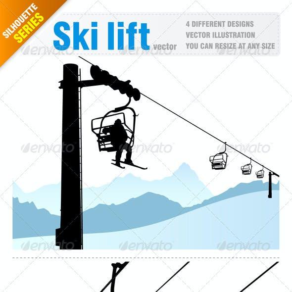 4 Ski lift designs