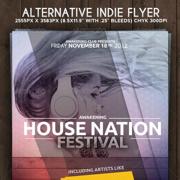 Alternative Indie Flyer Poster