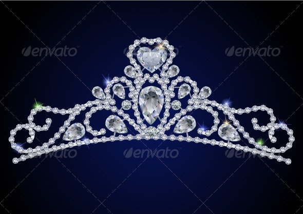 Diamond tiara - Man-made Objects Objects