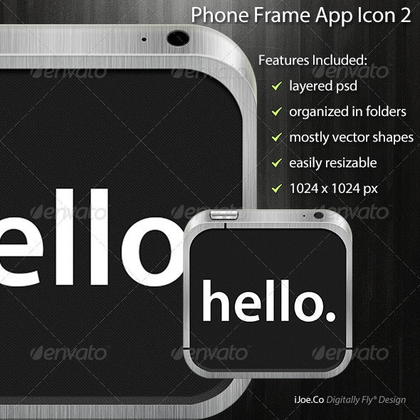 Phone Frame App Icon 2 - Software Icons