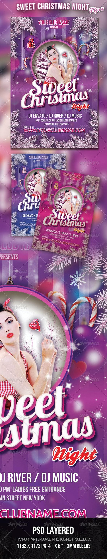 Purple Winter Flyer Template - Events Flyers