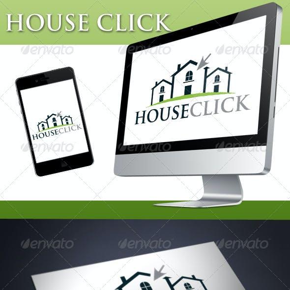 House Click Logo