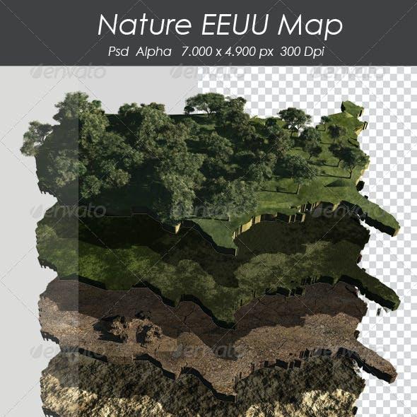 Nature EEUU Map