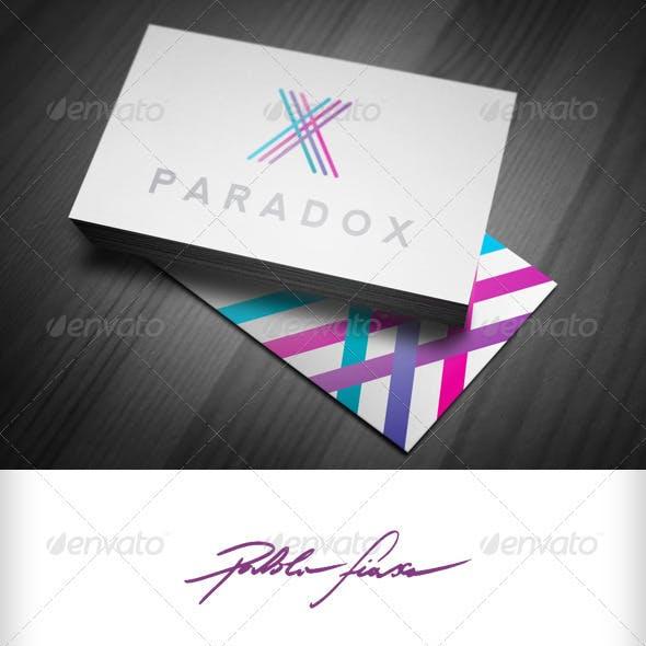 Abstract Letter X - Web Design - Web Print Logo