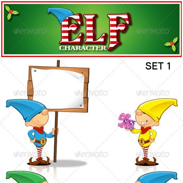 Elf Character - Set 1