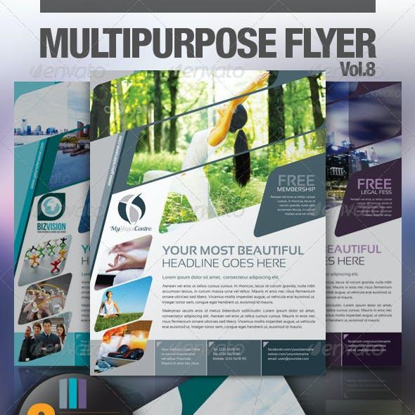 Multipurpose Business Flyer Vol.8