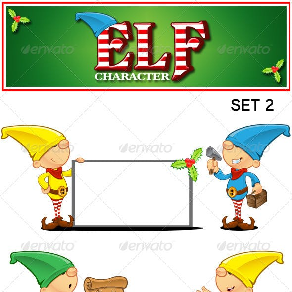Elf Character - Set 2