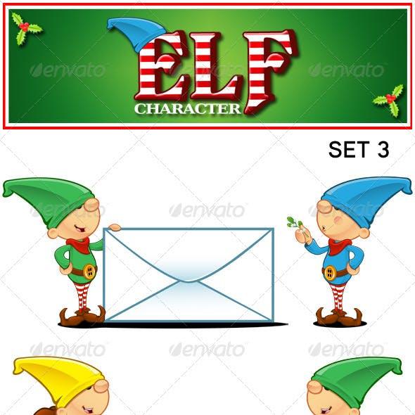 Elf Character - Set 3