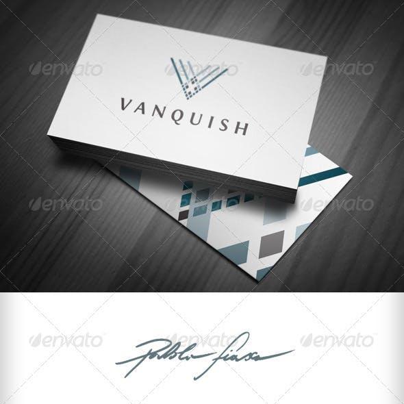 Abstract Letter V - Distinguished Elegance Logo