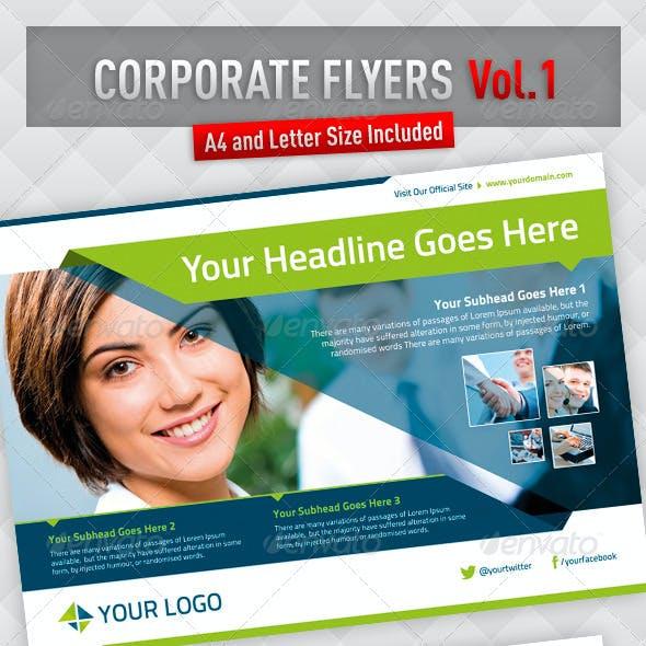 Corporate Flyers - Vol.1