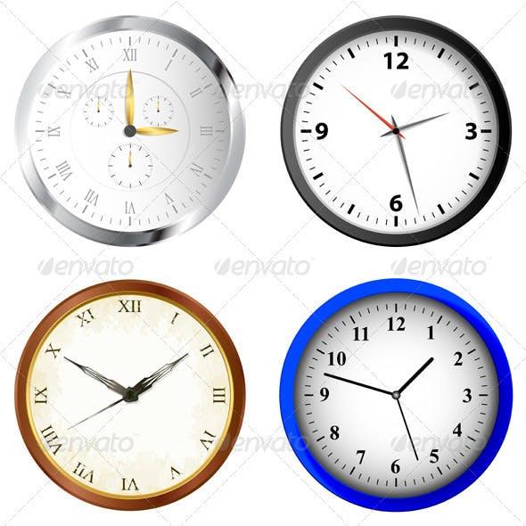 Clock Illustrations