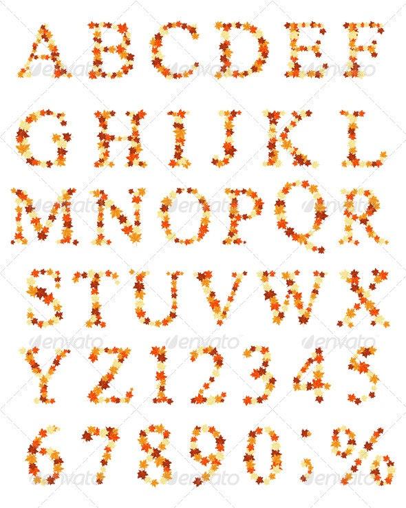 Maple Alphabet - Seasons Nature
