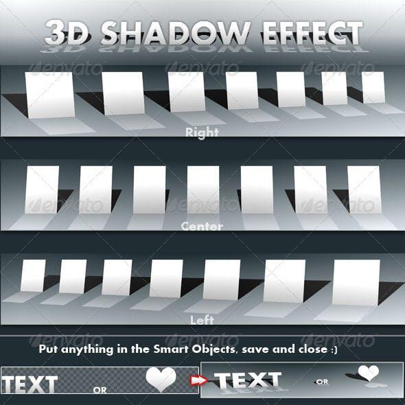 3D Shadow Effect